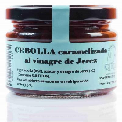Cebolla caramelizada al vinagre de jerez