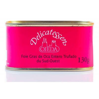 Foie gras de oca trufado