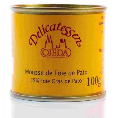 Mousse de foie de pato 55%