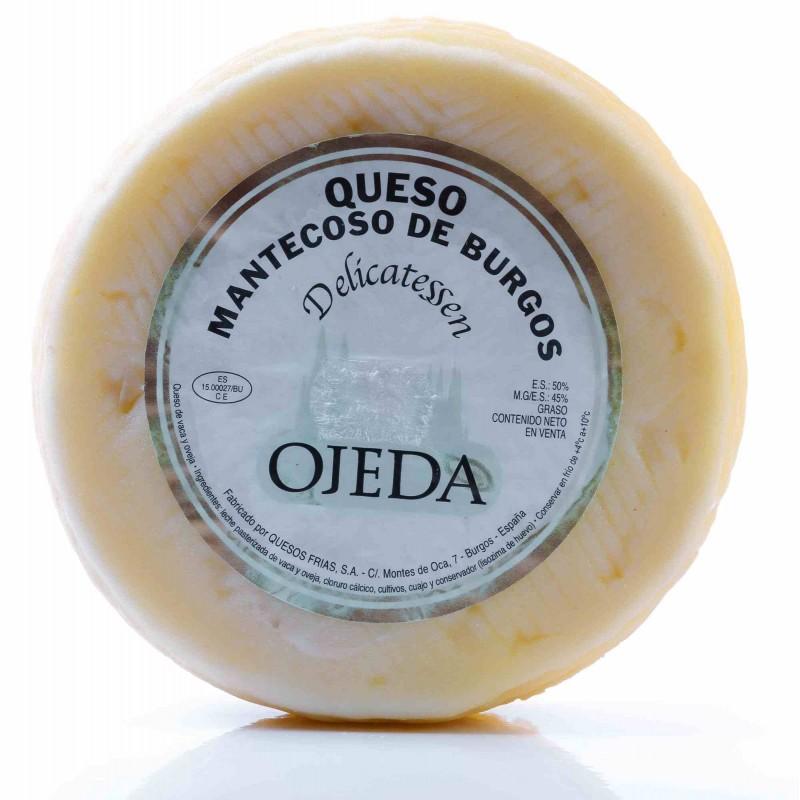 Queso mantecoso de Burgos