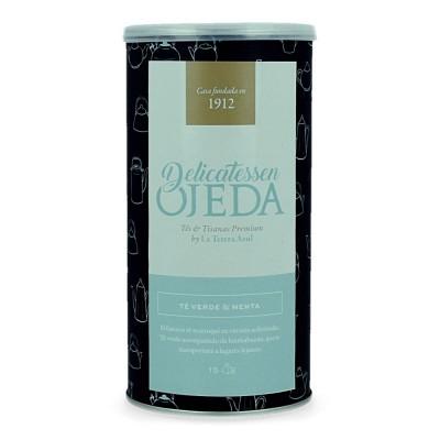 Lata de infusiones Delicatessen Ojeda - Te verde y menta