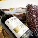 """Pack """"Alubia Roja de Ibeas"""" con Morcilla de Burgos y Vino de la Tierra de Castilla y León"""