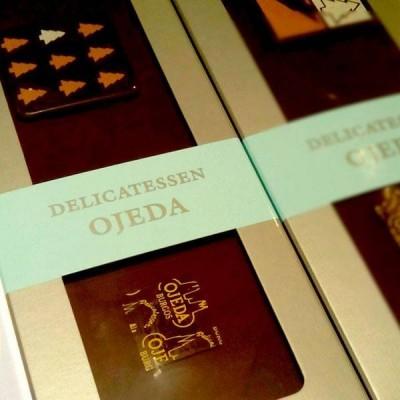 "Turrón artesano de chocolate ""Delicatessen Ojeda"""