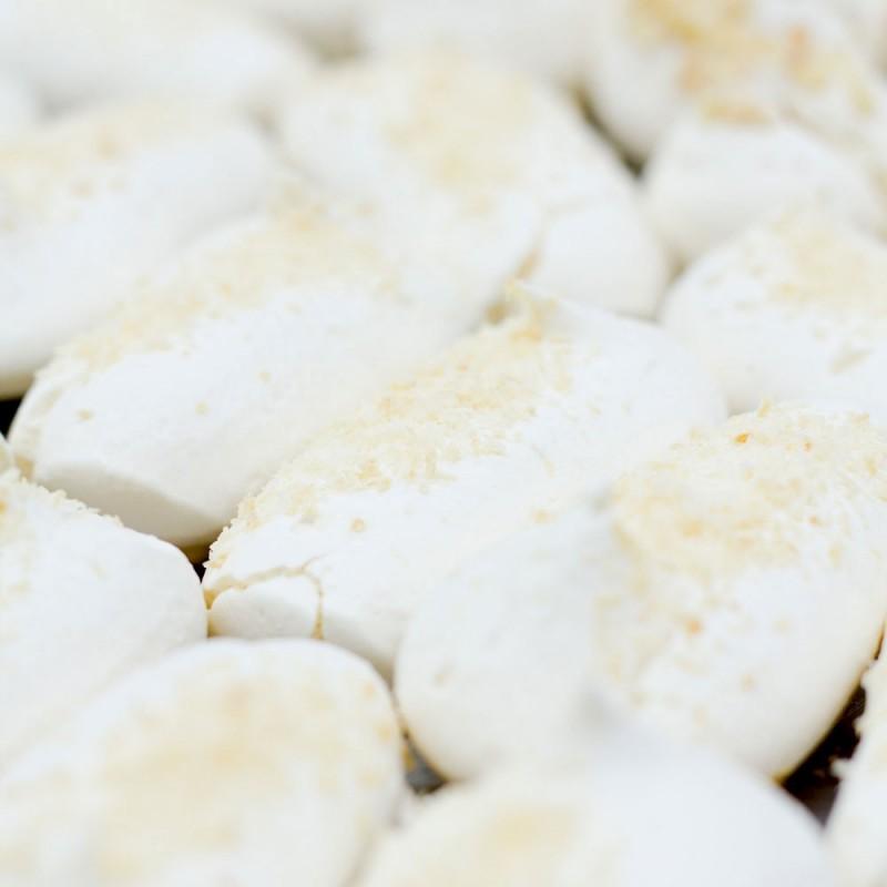 Sultanas artesanas de merengue con coco