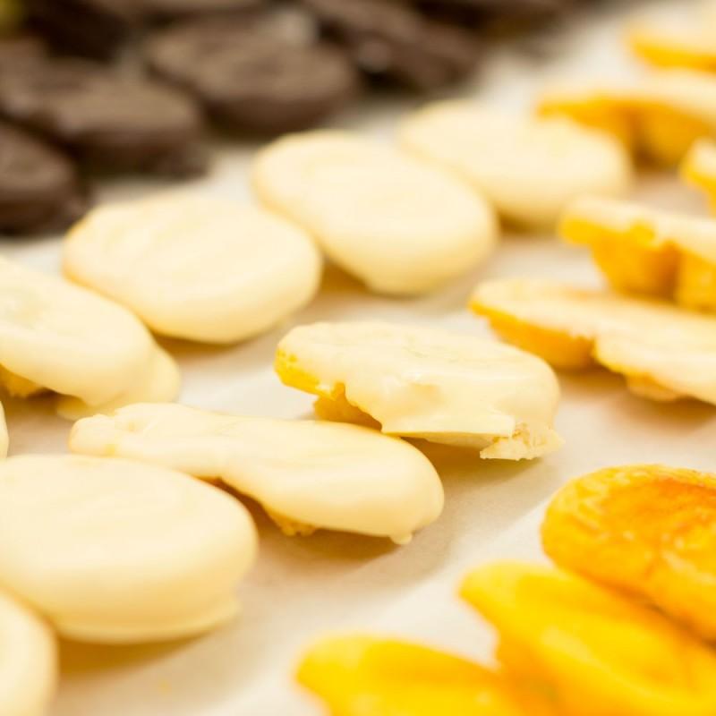 Palmeritas artesanas de chocolate